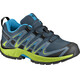 Salomon Junior XA Pro 3D Shoes Reflecting Pond/Lime Green/Hawaiian Surf